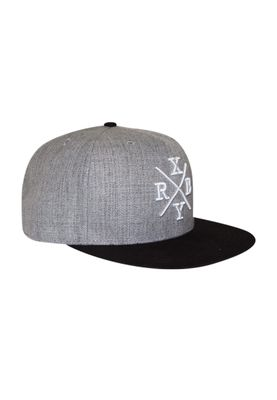 RXBRY Snapback Cap CROSS Black Grey