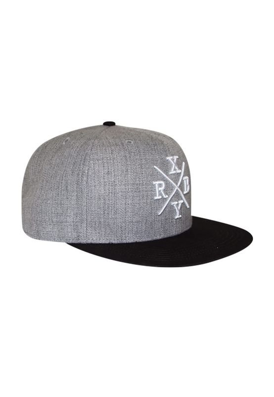 RXBRY Snapback Cap CROSS Black Grey Ansicht