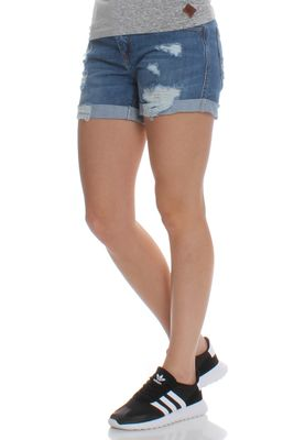 Superdry Jeansshorts Women STEPH BOYFRIEND SHORT Authentic Mid – Bild 2
