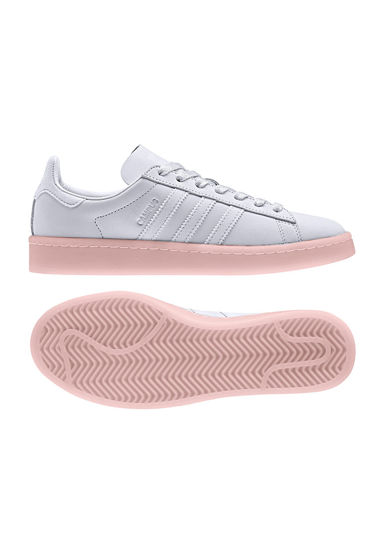 adidas originals campus grau pinke sole
