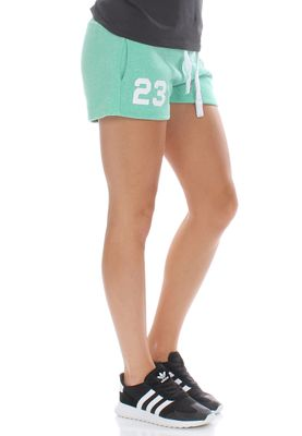 Superdry Shorts Women TRACKSTER SHORT Snowy Hot Mint – Bild 2