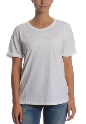 ... Converse T-Shirt Women ELEVATED CP EASY 10003937 Weiß 102 – Bild 0 ...