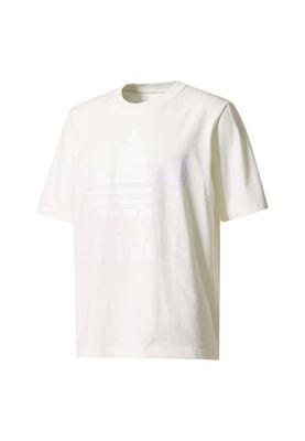 Adidas T-Shirt Men AC BOXY TEE CE6337 Creme – Bild 0