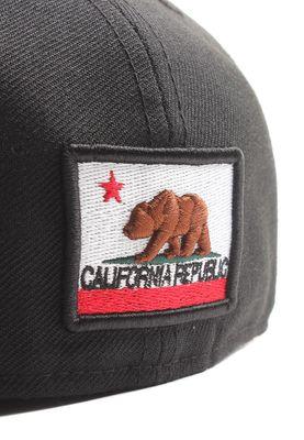 New Era California Bla 59Fifty Cap CALIFORNIA Schwarz – Bild 3