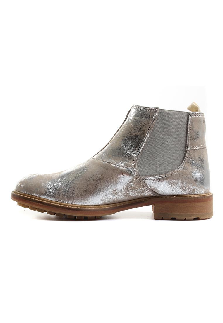 Ten Points Chelsea Boots Women CAYENNE 264014 Silber Schuhe Damen b99a249ea2