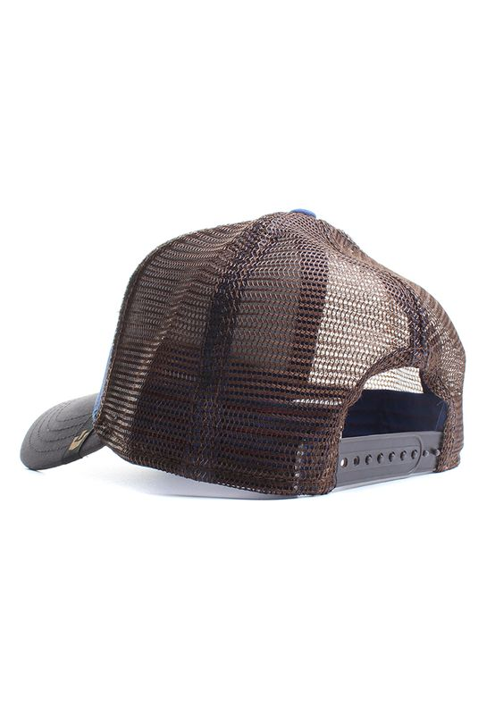 Goorin Bros. Trucker Cap DUMBASS Royalblau – Bild 2