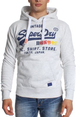 Superdry Sweater Men SWEAT SHIRT SHOP SURF Ice Marl – Bild 0