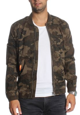 Superdry Jacke Men ROOKIE DUTY BOMBER LITE Alpine Camo – Bild 1