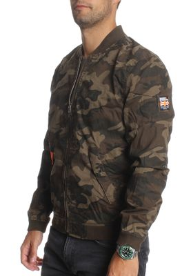 Superdry Jacke Men ROOKIE DUTY BOMBER LITE Alpine Camo – Bild 2