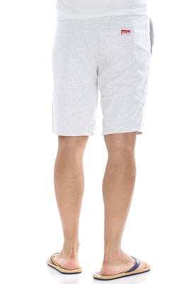 Superdry Shorts Men TRACKSTER LITE SWEATSHORT Ice Marl – Bild 2