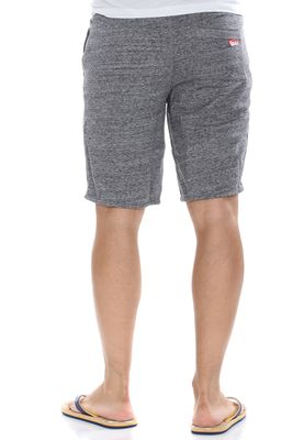Superdry Shorts Men TRACKSTER LITE SWEATSHORT Flint Grey Grit – Bild 2