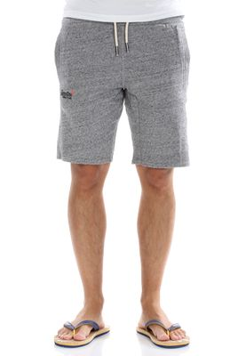 Superdry Shorts Men ORANGE LABEL LITE SLIM SHORT Flint Grey Grit – Bild 0
