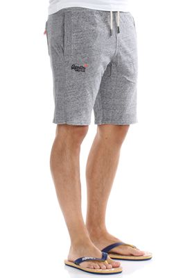 Superdry Shorts Men ORANGE LABEL LITE SLIM SHORT Flint Grey Grit – Bild 1