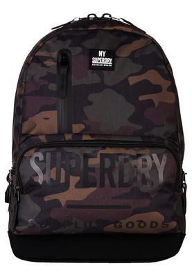 Superdry Rucksack SURPLUS GOODS MULTIZIP MONTANA Black Camo – Bild 0