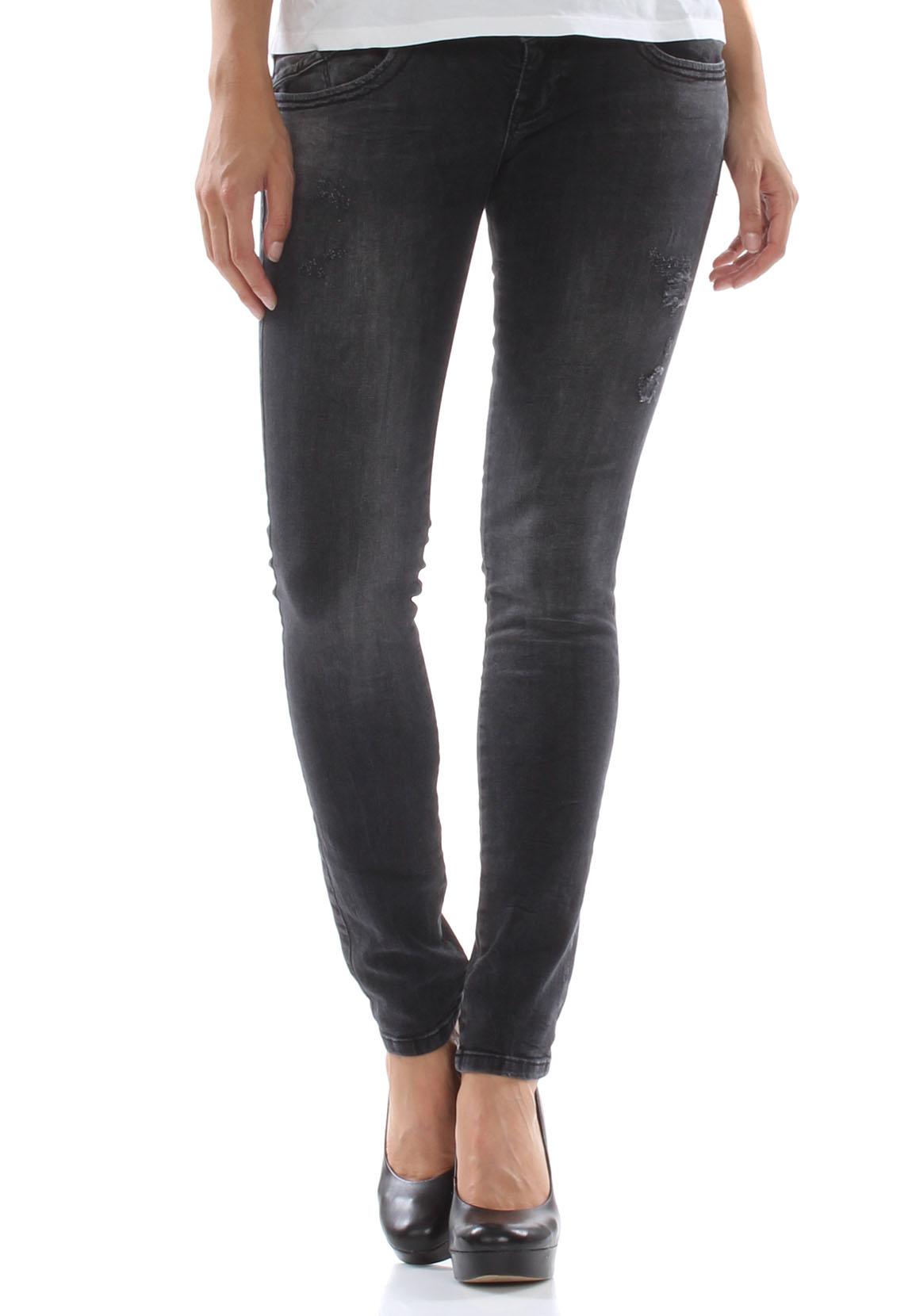 ltb jeans women molly vista black wash damen jeans hosen. Black Bedroom Furniture Sets. Home Design Ideas
