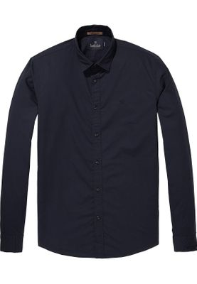 Scotch & Soda Hemd Men CLASSIC SHIRT 139561 Dunkelblau 0093
