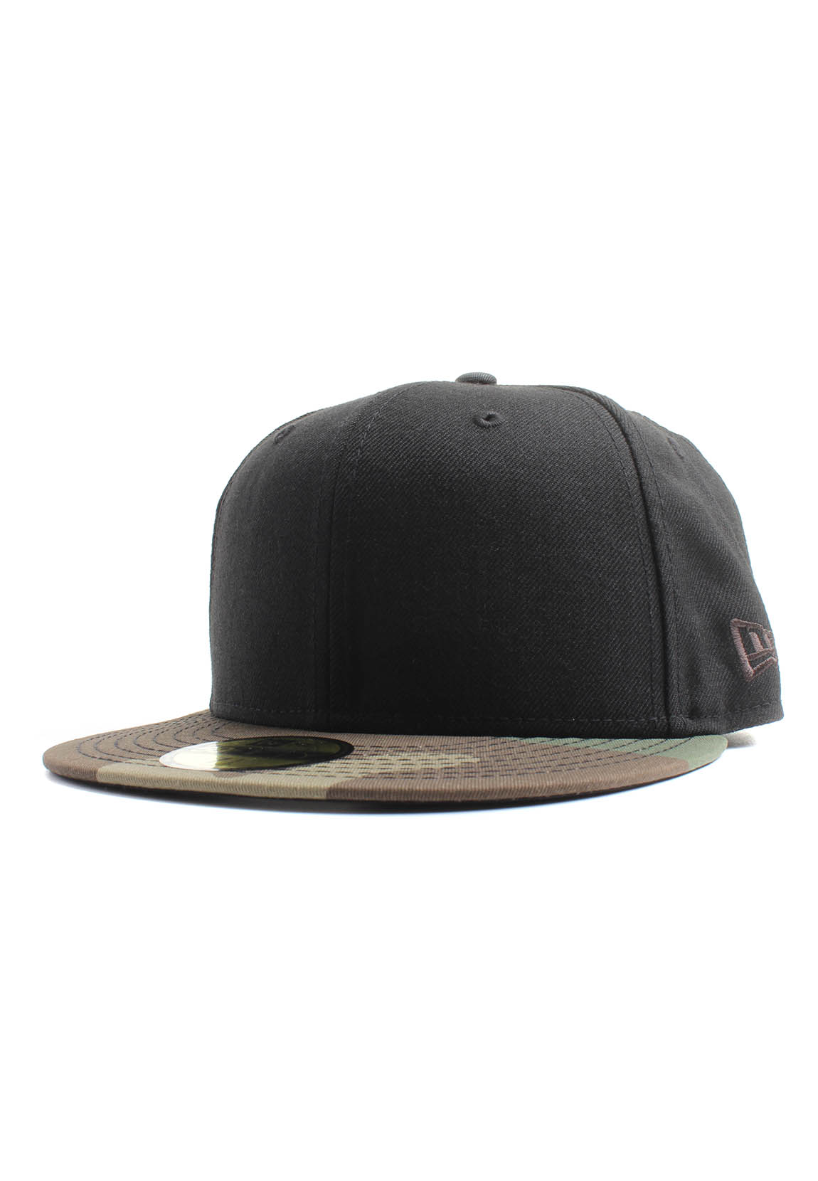 dc549aa8ab06 New Era Newera Black W 59Fifty Cap NE BASIC Schwarz Camouflage ...