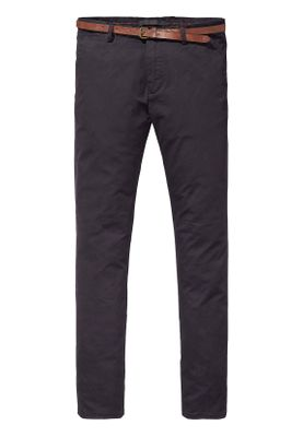 Scotch & Soda Chino Men MOTT 139514 Schwarz 0008