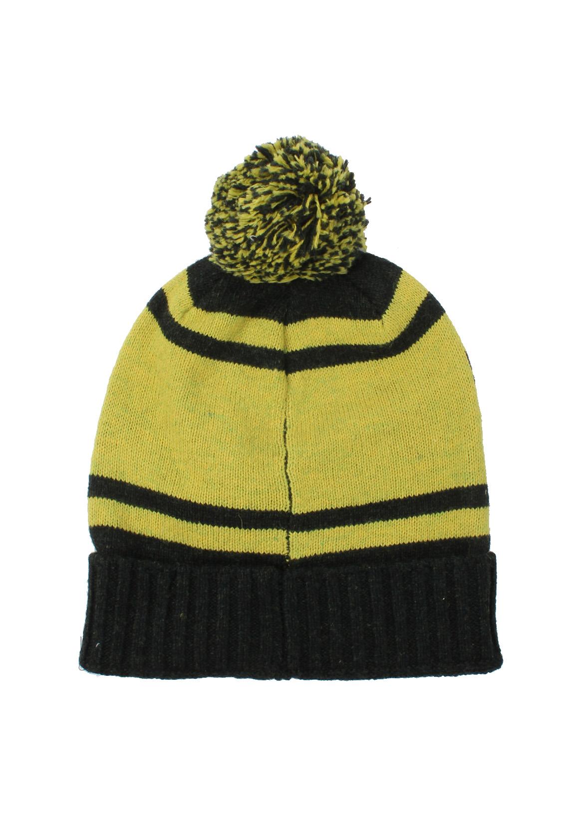 Scotch   Soda Pompom Hat 101823 Black Yellow 17 8719031301179  542a58b6450