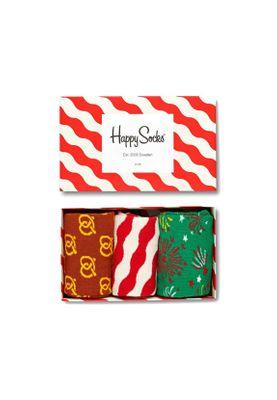 Happy Socks Geschenkbox HAPPY HOLIDAYS XMAS08-4001 Grün Weiß Rot – Bild 0