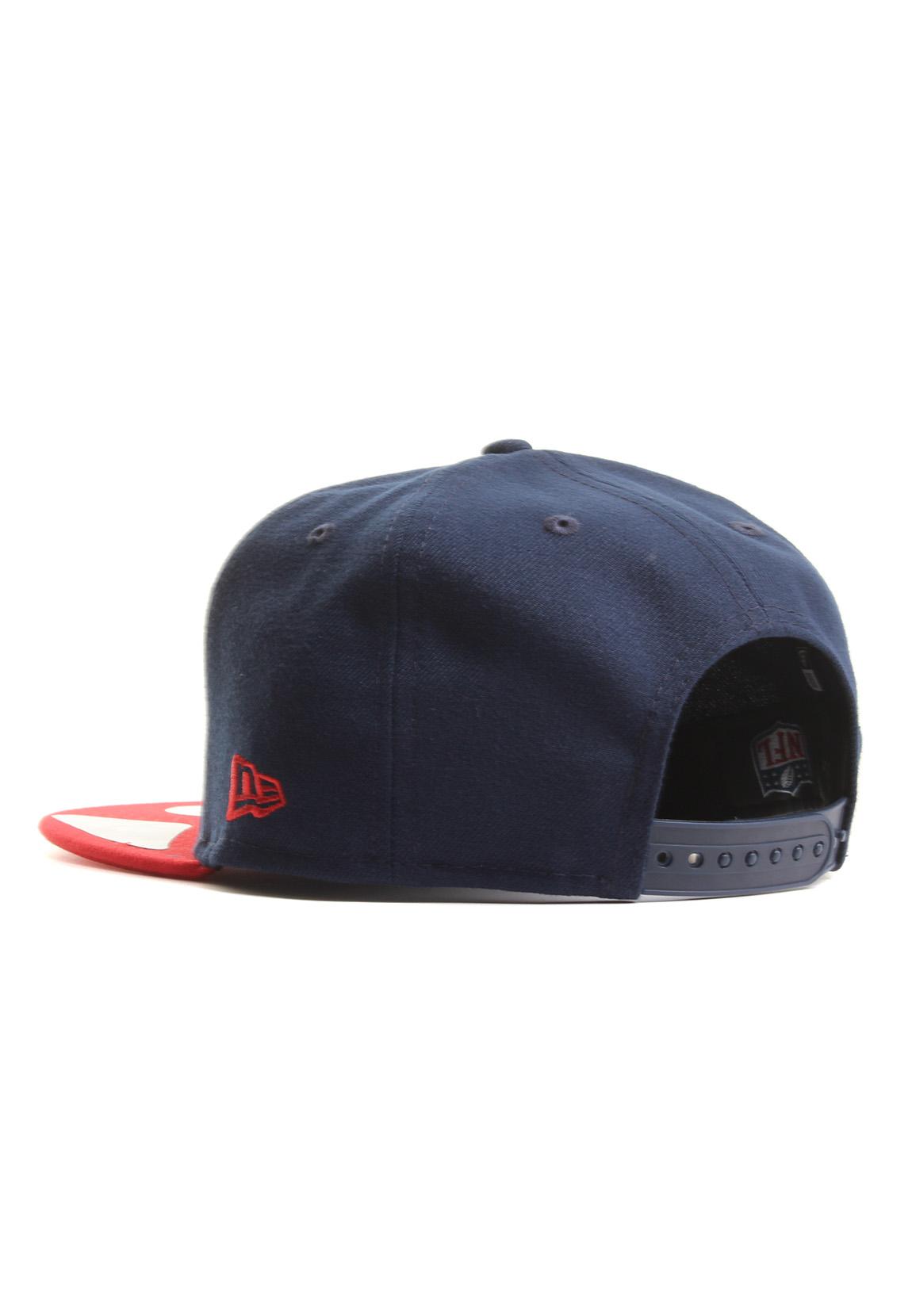06415bc0190a New Era Team Snap 9Fifty Snapback Cap NEW ENGLAND PATRIOTS Dunkelblau Rot