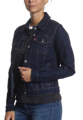 Levis Jeansjacke Women ORIGINAL TRUCKER 29945-0013 Even Rinse – Bild 3