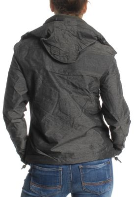 Superdry Jacke Damen ARTIC HOODED CLIFF HIKER Khaki Marl Black – Bild 2