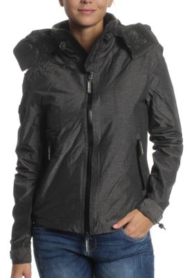 Superdry Jacke Damen ARTIC HOODED CLIFF HIKER Khaki Marl Black – Bild 0