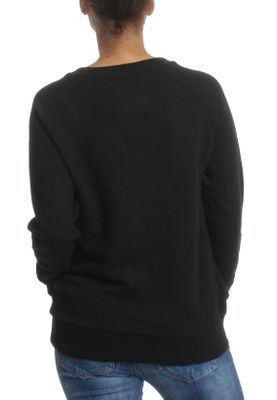 Superdry Sweatshirt Damen APPLIQUE RAGLAN CREW Black – Bild 1