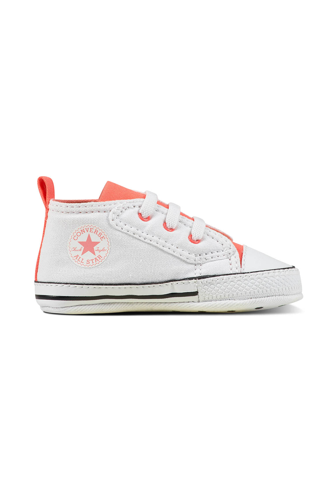 check out b9861 ac9ab Converse Babyschuhe CT AS FIRST STAR EASY SLIP 857430C Weiß Pink