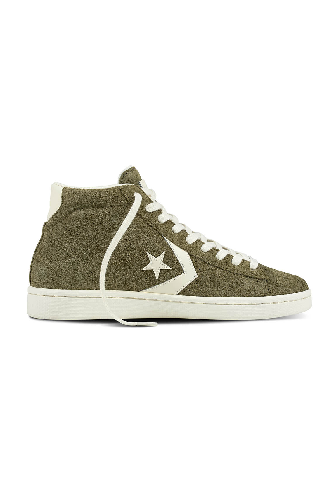new product dc20b 5dba5 Converse Chucks High PRO LEATHER MID 157690C Grün Medium Olive
