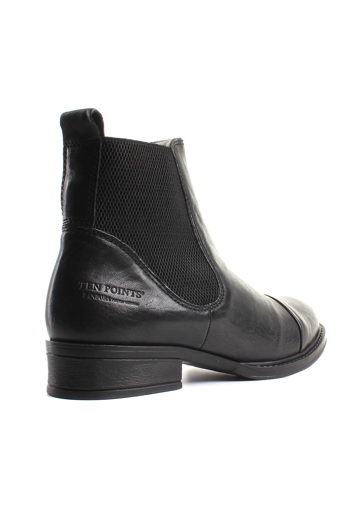 ten points chelsea boots gef ttert damen pandora 124004. Black Bedroom Furniture Sets. Home Design Ideas