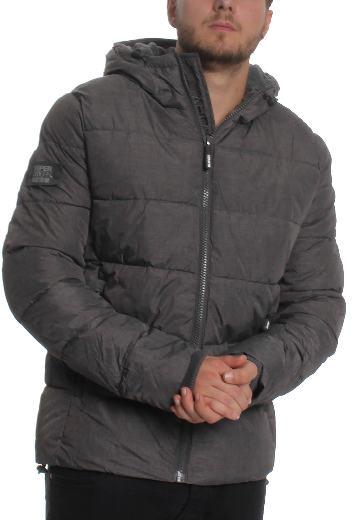 9b9b79365 Sports Grey Dark Men Puffer Jacket Superdry Ebay Marl TEqOwgWxp