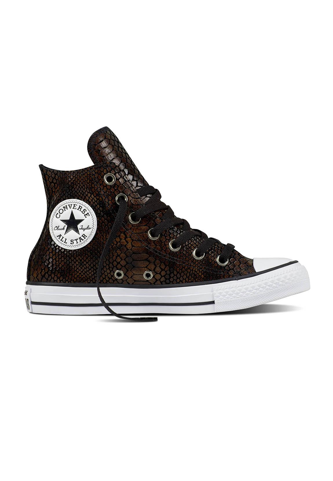 converse chucks high ct as hi 557919c braun schwarz brown black schuhe damen. Black Bedroom Furniture Sets. Home Design Ideas