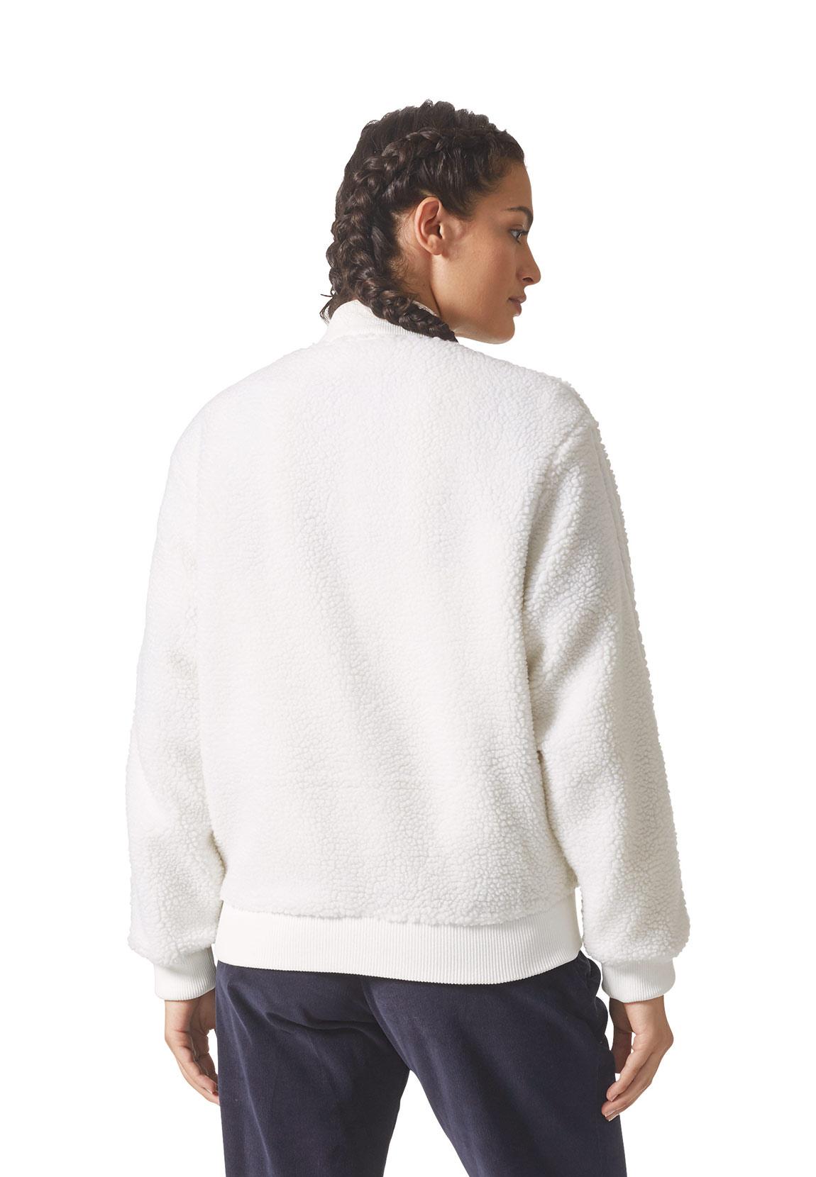 Details zu Adidas Damen Sweatjacke SST TRACKTOP BR5191 Weiß