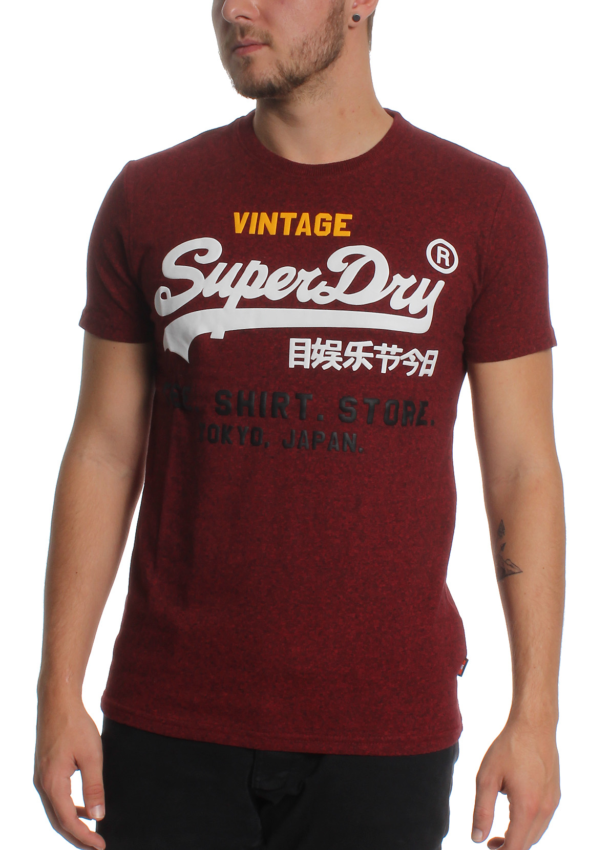 superdry t shirt herren t shirt print superdry white. Black Bedroom Furniture Sets. Home Design Ideas