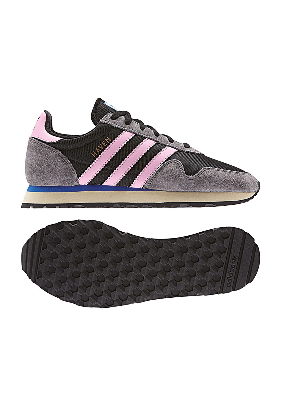 adidas sneaker damen haven w by9572 schwarz pink schuhe damen. Black Bedroom Furniture Sets. Home Design Ideas