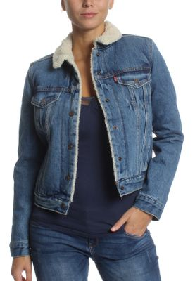 Levis Jeansjacke Damen ORIGINAL TRUCKER 36136-0003 Extremely Loveable – Bild 0