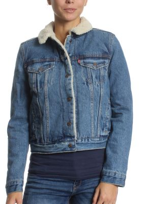 Levis Jeansjacke Damen ORIGINAL TRUCKER 36136-0003 Extremely Loveable – Bild 2