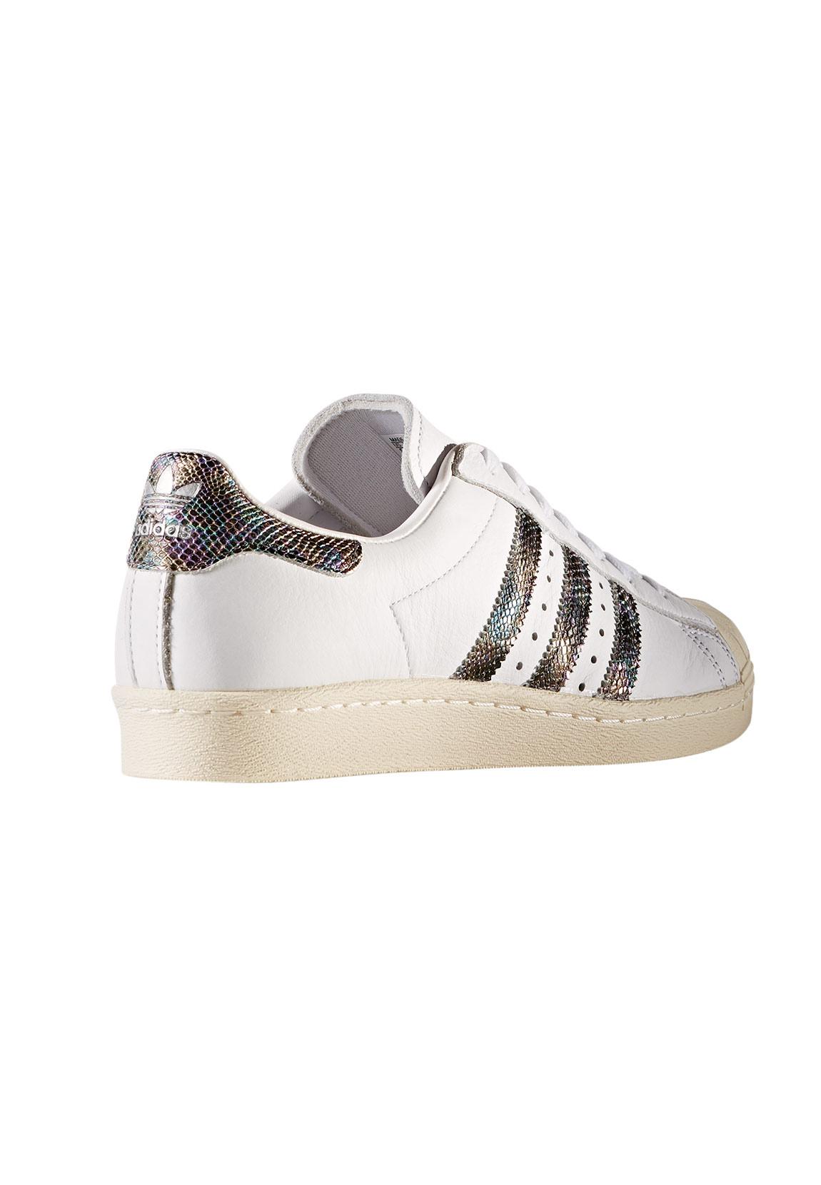 Adidas Sneaker Herren SUPERSTAR 80S BZ0148 Weiß