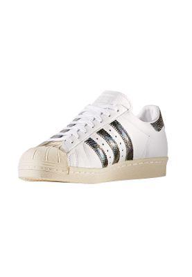 Adidas Sneaker Herren SUPERSTAR 80S BZ0148 Weiß – Bild 2