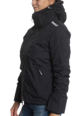 Superdry Jacke Damen POP ZIP HOOD ARCTIC WINDCHEATER Eclipse Navy Ecru – Bild 2
