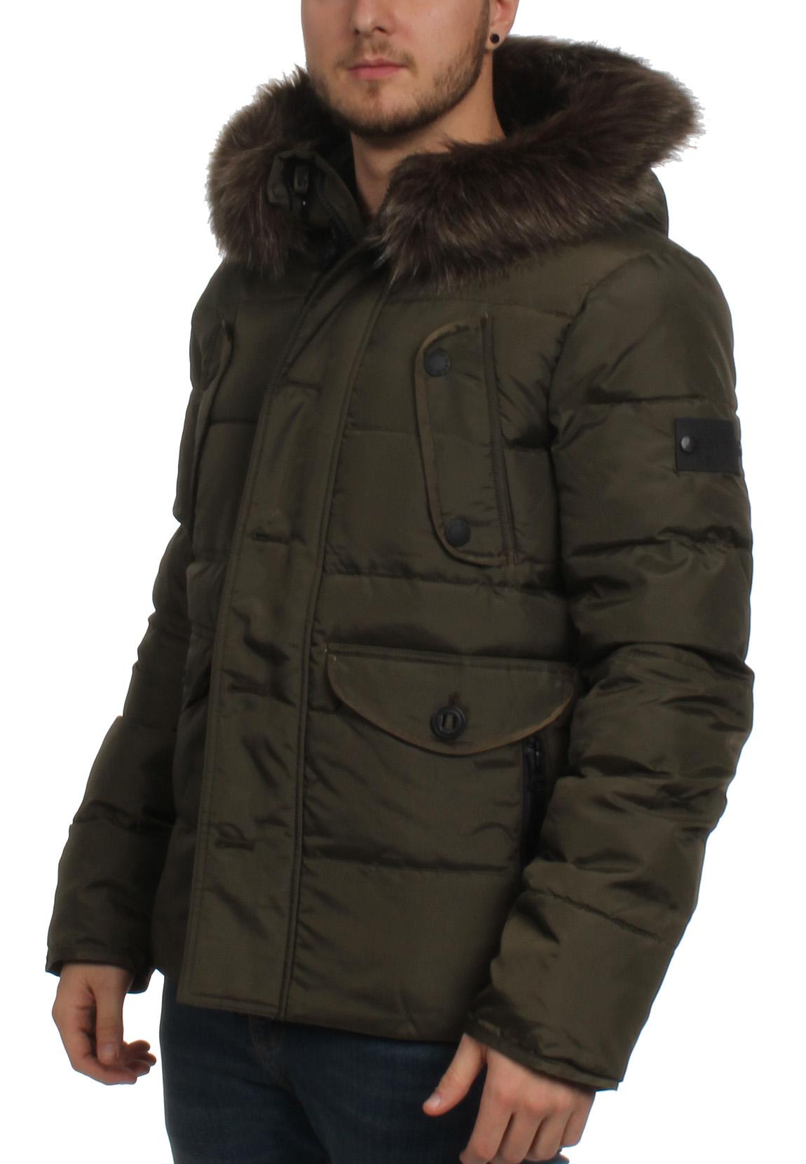 superdry herren jacke chinook jacket dark khaki herren. Black Bedroom Furniture Sets. Home Design Ideas