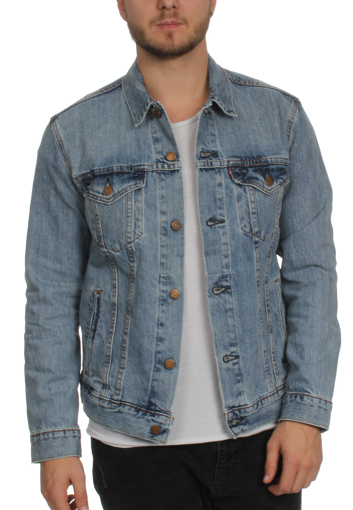 Levis rote jacke