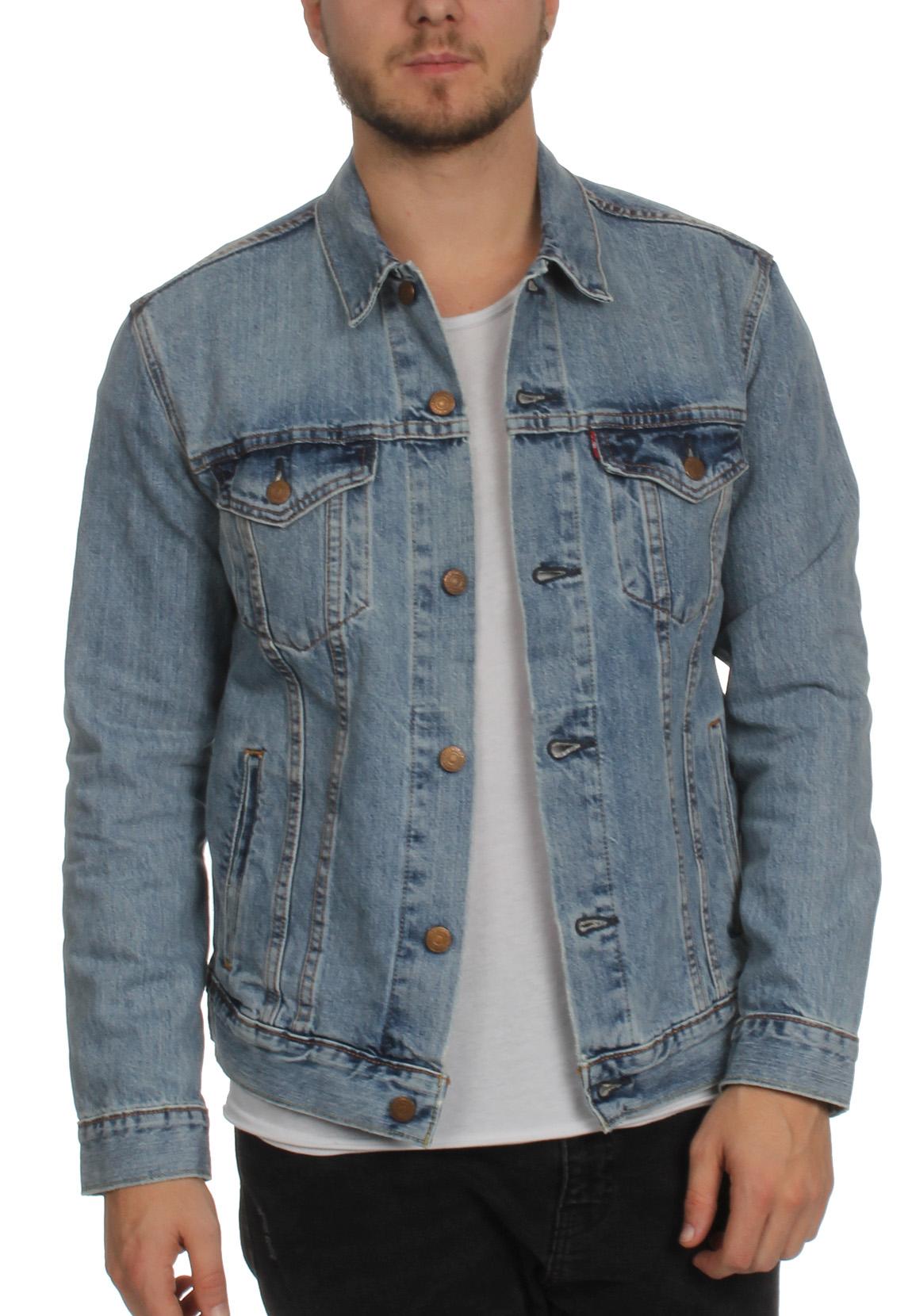 levis herren jeansjacke the trucker jacket 72334 0146 icy. Black Bedroom Furniture Sets. Home Design Ideas