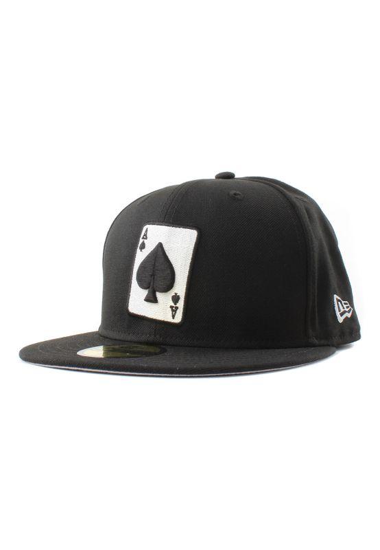 New Era 59Fifty Cap ACE OF SPADE Schwarz  – Bild 0