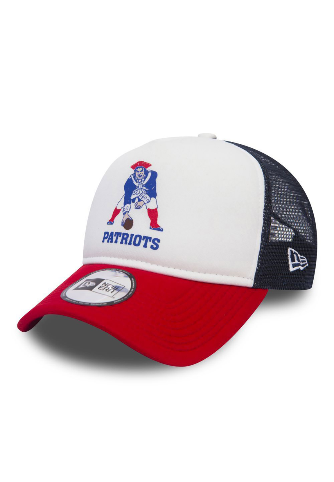 New Era NFL Throwback Truck Adjustable NEW ENGL...