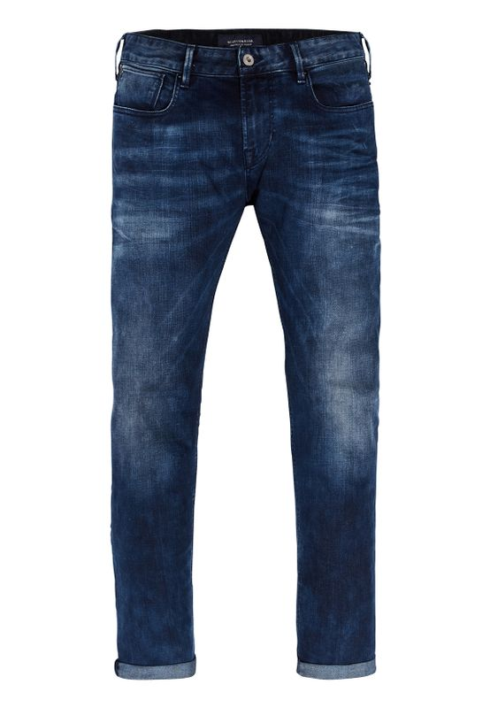 Scotch & Soda Jeans Men TYE 141222 Dunkelblau Blauw Flash 1861 – Bild 0