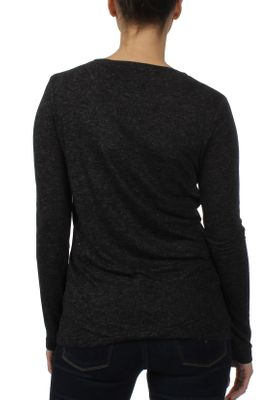 Superdry Damen Longsleeve DUNLOE LS GRAPHIC TOP Midnight Sky Black – Bild 1