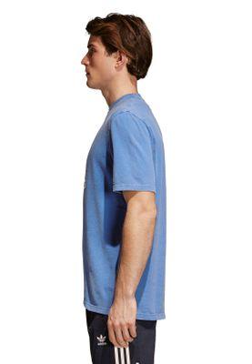 Adidas Originals Herren T-Shirt TREFOIL T-SHIRT CW0703 Blau – Bild 2